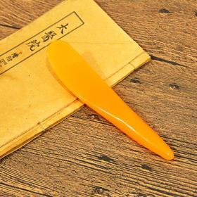 树脂拨筋刮痧板-T2舒筋棒A(黄色)
