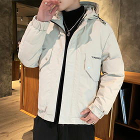 DDZ-TXZX02\新款潮流帅气短款轻薄加厚男士外套TZF