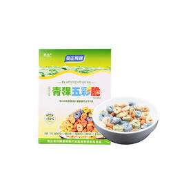 【包邮 】青稞五彩脆圈 低脂低升糖营养代餐 加餐零食 五色五味 150g*2盒