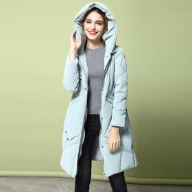 LFSC6963-1新款时尚连帽保暖显瘦糖果色羽绒服外套TZF