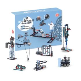 致砖小牛顿实验室电动积木套装儿童逻辑思维训练益智玩具