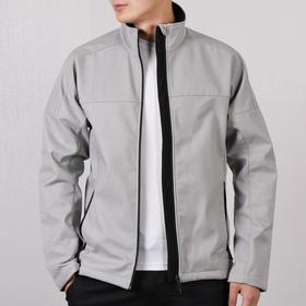 【特价】Adidas阿迪达斯 男款立领运动夹克外套 - 梭织防风,加绒保暖