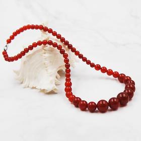 天然红玛瑙塔链项链