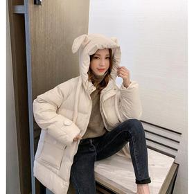 LFR6921新款冬季加厚韩版连帽加厚羽绒棉衣TZF