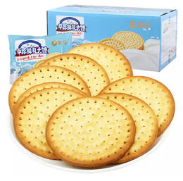 【珠三角包邮】蒙辉内蒙古草原鲜乳大饼干  (原味) 1kg/箱 (1月18日到货)