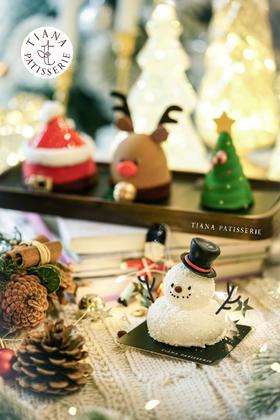 甜心圣诞慕斯套盒