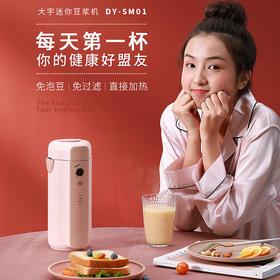 韩国大宇迷你小型豆浆机全自动1-2人家用单人小容量破壁豆浆机