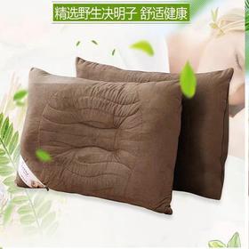 预售3月1日左右发货【简单生活、从芯开始】竹洋浪琴决明子枕芯 有助睡眠+按摩  优质莫代尔面料 亲肤柔和
