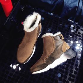 OLD-H588新款短筒加绒冬季棉鞋TZF