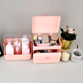 【梳妆台收纳】Lofree洛斐玲珑收纳盒套装 超大容量|分区收纳|极简设计