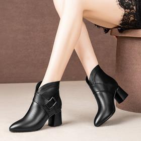 【清仓特价 不退不换】XYSH518-1新款2019秋冬季高跟时装靴TZF