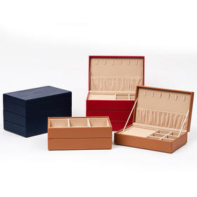 匡禾EXQOUSE·三层款首饰盒 | 容量大,收纳分区,给首饰柔软实用的家
