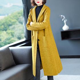 FCY-MG93362新款时尚宽松休闲针织衫外套TZF