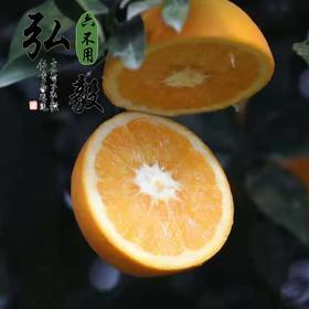 【弘毅六不用生态农场】六不用脐橙 无农残 无打蜡 5斤/份