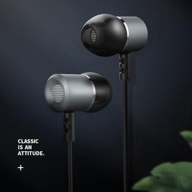可逸 耳机入耳式有线手机耳机 音乐耳机 通用苹果华为小米手机KV-MT07