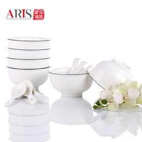 爱依瑞斯简约12头唐山陶瓷餐具套装AS-D1209H  (巴奇索)