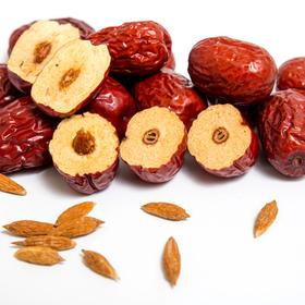 新疆若羌红枣,有机认证,人工精选特级果,新疆源产地直发500g*2袋