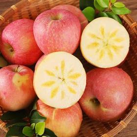 新鲜应季脆甜多汁冰糖心丑苹果健康种植10斤装