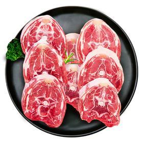 【精选】新疆库尔勒天山安达 巴音布鲁克有机黑头羊羔羊颈排|肉质鲜嫩 ,不膻不肥不腻,低脂肪高蛋白,营养丰富|500g/盒【生鲜熟食】