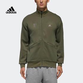 【特价】Adidas阿迪达斯 WJ TT SWT 男装运动针织立领外套