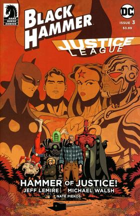 变体 Black Hammer Justice League