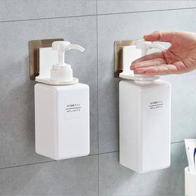 沐浴露瓶挂架洗发水洗手液卫生间收纳浴室置物架吸壁式无痕挂钩