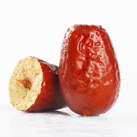 特级和田骏枣 2斤装 自然树上干 果肉饱满甜糯紧实 一级5斤礼盒装  农户自家采摘