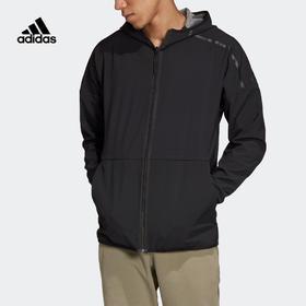【特价】Adidas 阿迪达斯 M ZNE Hd Rev 男款休闲运动双面穿外套