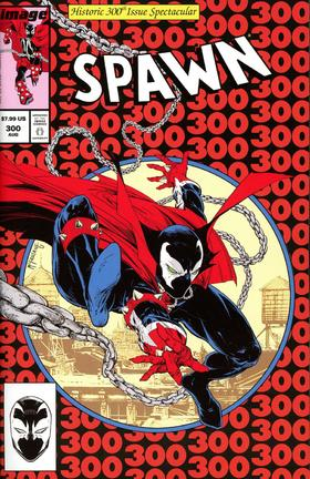 变体 再生侠 Spawn #300 Cover J-Q