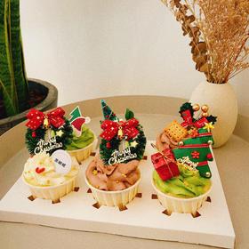 【圣诞节】新品·圣诞款纸杯蛋糕