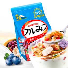 【精选】北海道卡乐比酸奶风味谷物麦片|早餐速食 营养健康|600g/袋【休闲零食】