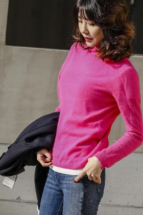 MAISON COVET  自有品牌 羊绒系列基础款半高领羊绒衫