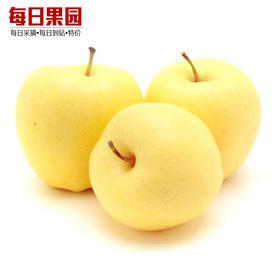 烟台黄元帅苹果 7.4元/斤 精选3斤装 黄金帅粉面香蕉苹果-835007