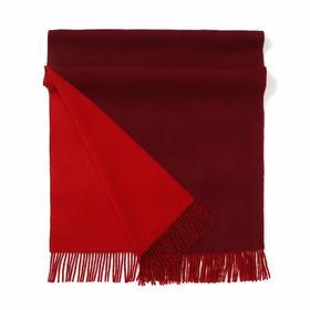 Maison Covet 双面水波纹山羊绒围巾