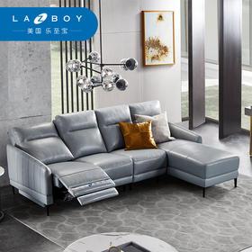 LAZBOY乐至宝真皮多功能沙发床大小户型现代简约北欧轻奢客厅躺位GN.605