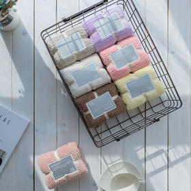 【四条装 限时特价】国家A类毛巾 微米纺滑纱材质 一条擦干全身