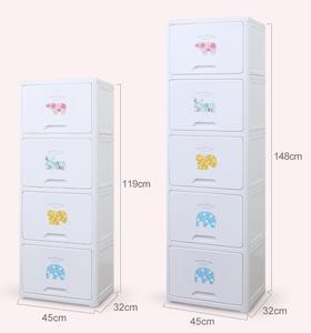 yeya也雅玩具组合收纳柜塑料儿童衣柜宝宝储物柜自由衣橱多层柜子 (布偶印记 柔软时光) WJ-44003 WJ-44004 WJ-44005 WJ-45003WJ-45005  WJ-45004