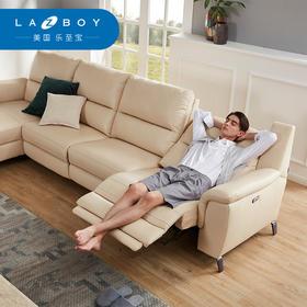 LAZBOY乐至宝真皮多功能大户型现代简约欧式客厅贵妃组合沙发602