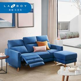 LAZBOY乐至宝现代简约布艺功能沙发组合 单人小户型懒人沙发603