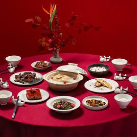 [大董·家宴]好食成宴 以贺人圆 团圆宴/鲍鱼宴 两种可选  5-6人食