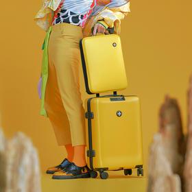 起承文化·20寸1+1分体式登机箱│美如艺术品的国风行李箱,拥有,我想出发了