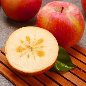 新疆阿克苏苹果 冰糖心苹果 细腻红润 颜色鲜亮 口感清甜 新鲜采摘 应季水果 苹果