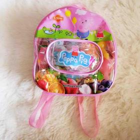 小猪佩奇背包|儿童水果布丁,送玩具