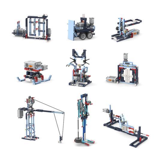 进阶必备!致砖小牛顿实验室电动积木 商品图1