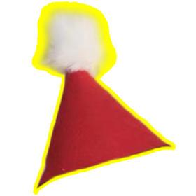 圣诞毛毡帽