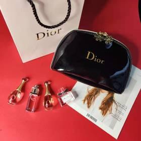 现货!【送漆皮化妆包】Dior迪奥真我系列甜心迷你香水小样套装5ml四件套