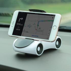 H&3汽车摆件吸盘式卡通跑车造型手机架车载手机支架