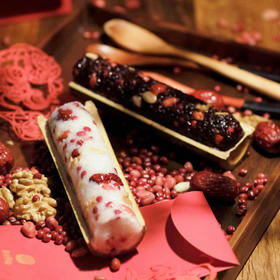 竹糯米八宝饭礼盒 | 软糯甜蜜,八宝汇聚,阖家团圆必备
