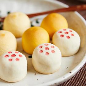 四方福·果子礼盒(风吕敷版)| 入口松软湿润,香甜不腻,专为福年定制