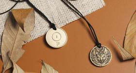 奇幻生肖守护系列之鼠年铜章挂件